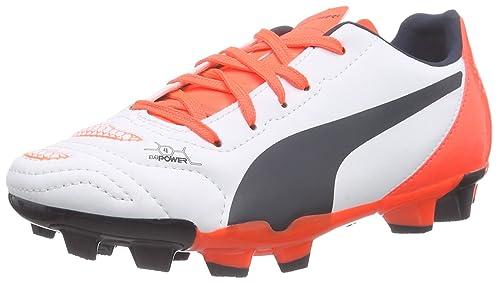 Puma Men, Football Boots, Evopower 4.2 fg jr, Off-White (Bianco