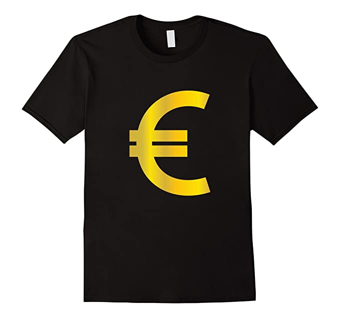 Amazon Euro Sign T Shirt Gold Europe Currency Symbol Money Cash