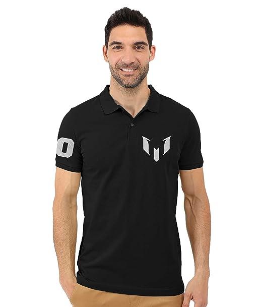 4a9c32cec2d Lionel Messi Barcelona Fan Art Collar Polo T-shirts (Large)  Amazon ...