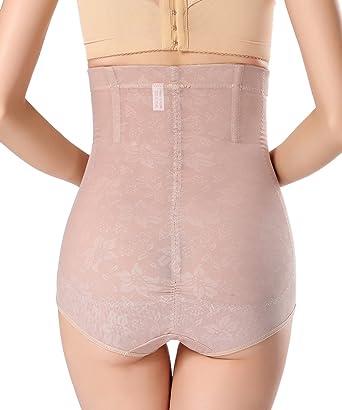 858c420814b FLORATA Women Cincher High Waist Thong Body Tummy Control Shaper Girdle  Brief Underwear