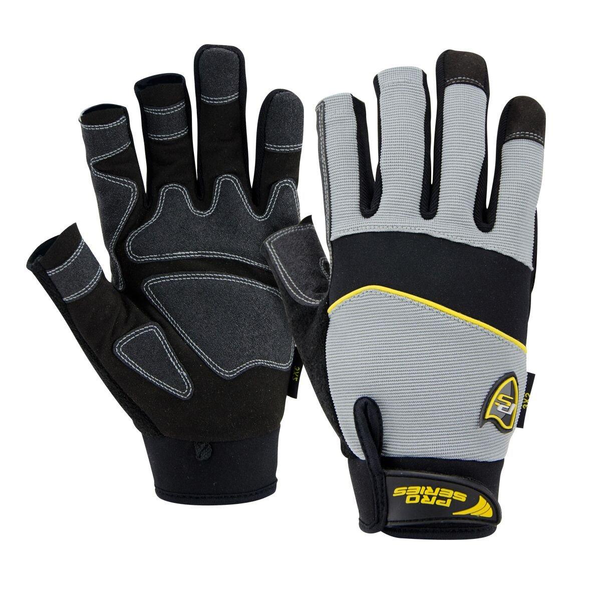 West Chester 86700 Pro Series Gloves, 2XL, Black