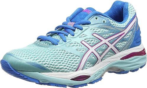 ASICS T6C8N6701, Zapatillas de Running para Mujer, Azul (Aqua Splash / White / Pink Glow), 38 EU: MainApps: Amazon.es: Zapatos y complementos