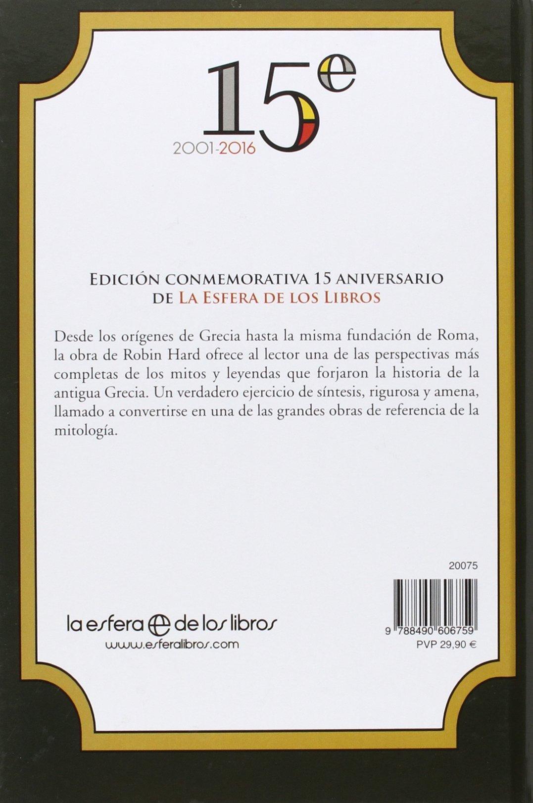 El Gran Libro De La Mitologia Griega - Edición 15º Historia: Amazon.es:  Robin Hard, Jorge Cano Cuenca: Libros