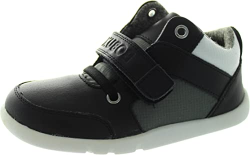 2a948103836b5 Bobux I-Walk Hi Top - Zapatos Primeros Pasos de Piel para niño Negro Negro