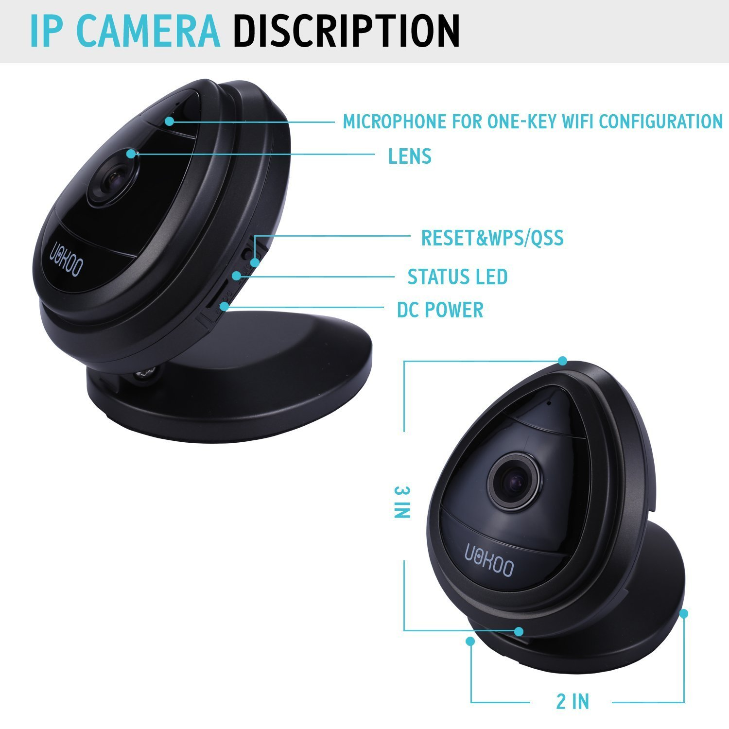 security mini ip camera hd home surveillance camera wireless ip camera wifi ebay. Black Bedroom Furniture Sets. Home Design Ideas