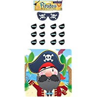 (1-Pack, Multi) - Henbrandt Stick The Eye Patch