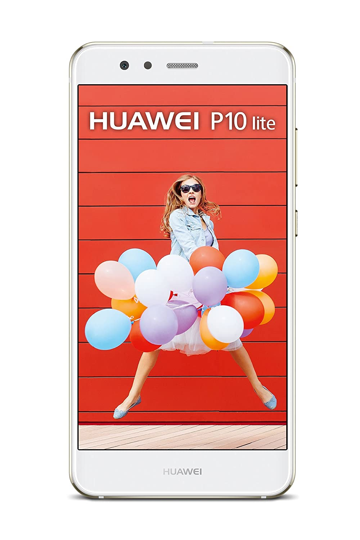 "Huawei P10 Lite Smartphone FHD, 5.2"", GB de memória interna de 32, 658 octa-core Kirin, 4 GB RAM, 4G, 7.0 Android, Branco"