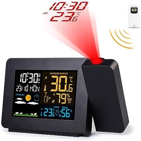 Febelle Despertador Digital Estación meteorológica inalámbrica ...