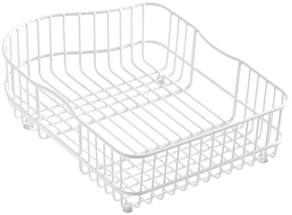 KOHLER K 6603L 0 Hartland Wire Rinse Basket, White