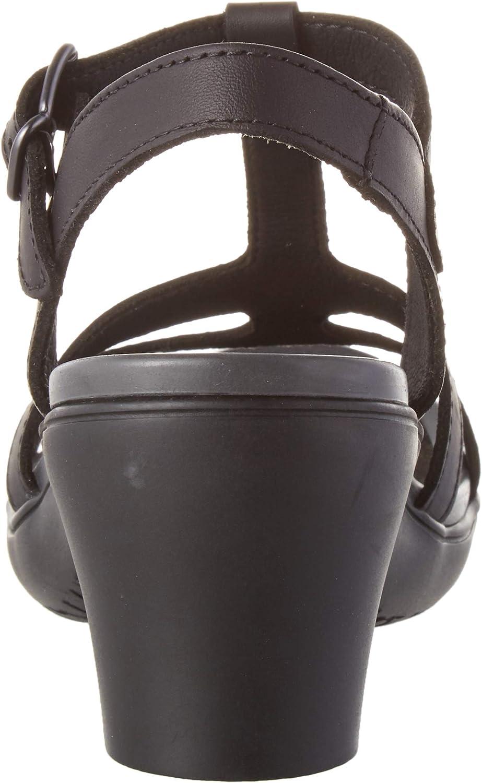 Art 1473 Grass Black-Carbon/Alfama, Sandales Bout Ouvert Femme Noir Black Carbon Black Carbon