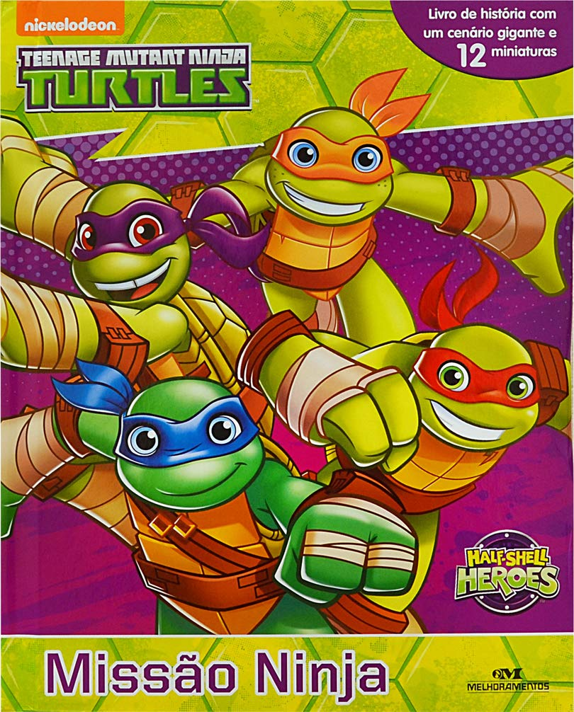 Half Shell Turtles. Missao Ninja (Em Portugues do Brasil ...