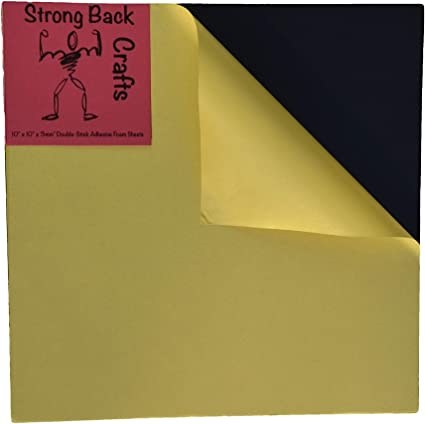 Double Sided Adhesive Sheets Strong Sticky Paper /& Transfer Tape