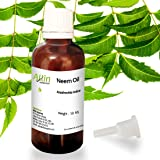 Allin Exporters Neem Oil 50 Ml Wild Crafted Pure Cold Pressed Unrefined 100% Pure,Natural & Undiluted For Skincare, Hair Care & Natural Bug Repellent