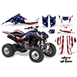 Amazon.com: AMR Racing Graphics Kit for ATV Suzuki LTZ 400 ...