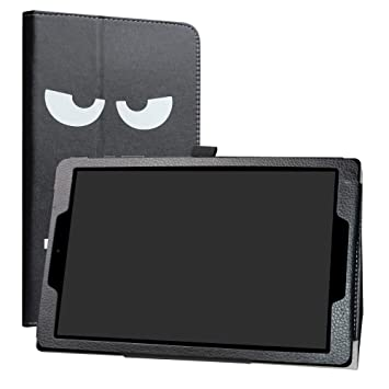 LiuShan Chuwi HiPad Funda Folio Soporte PU Cuero con Funda Caso para 10.1 Chuwi HiPad Android Tablet,Dont Touch