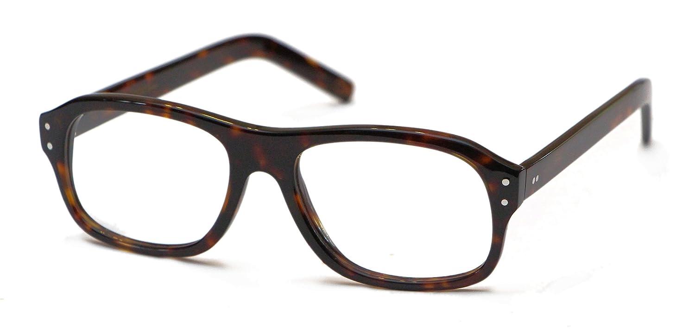 dc9bb252c1 Amazon.com  Magnoli Clothiers Kingsman Glasses (Black (Clear Lenses))   Clothing