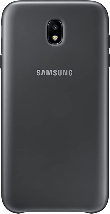 SAMSUNG Dual Layer Cover - Carcasa Galaxy J7 2017, Color Negro ...