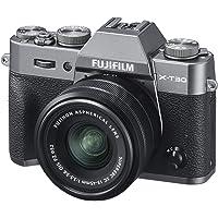 Fujifilm X-T30 Mirrorless Digital Camera w/XC15-45mm Kit - Charcoal Silver