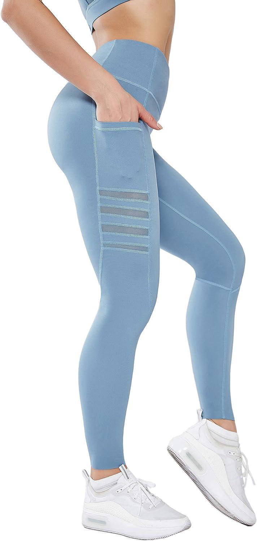 Vimbloom Leggings Fitness Donna Vita Alta Yoga Palestra Leggins Sportivi Pantaloni VI263