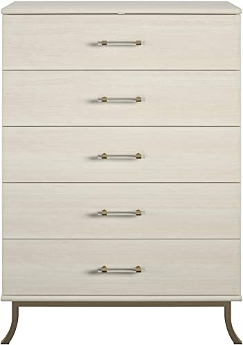 Little Seeds Monarch Hill Clementine White 5 Drawer Dresser