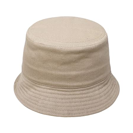 0344d87e9dd Kids Cotton Bucket Hat Sunhat Beach Hat Summer Outdoor UPF50+ For Boys And  Girls Aged 3-5Y  Amazon.co.uk  Kitchen   Home