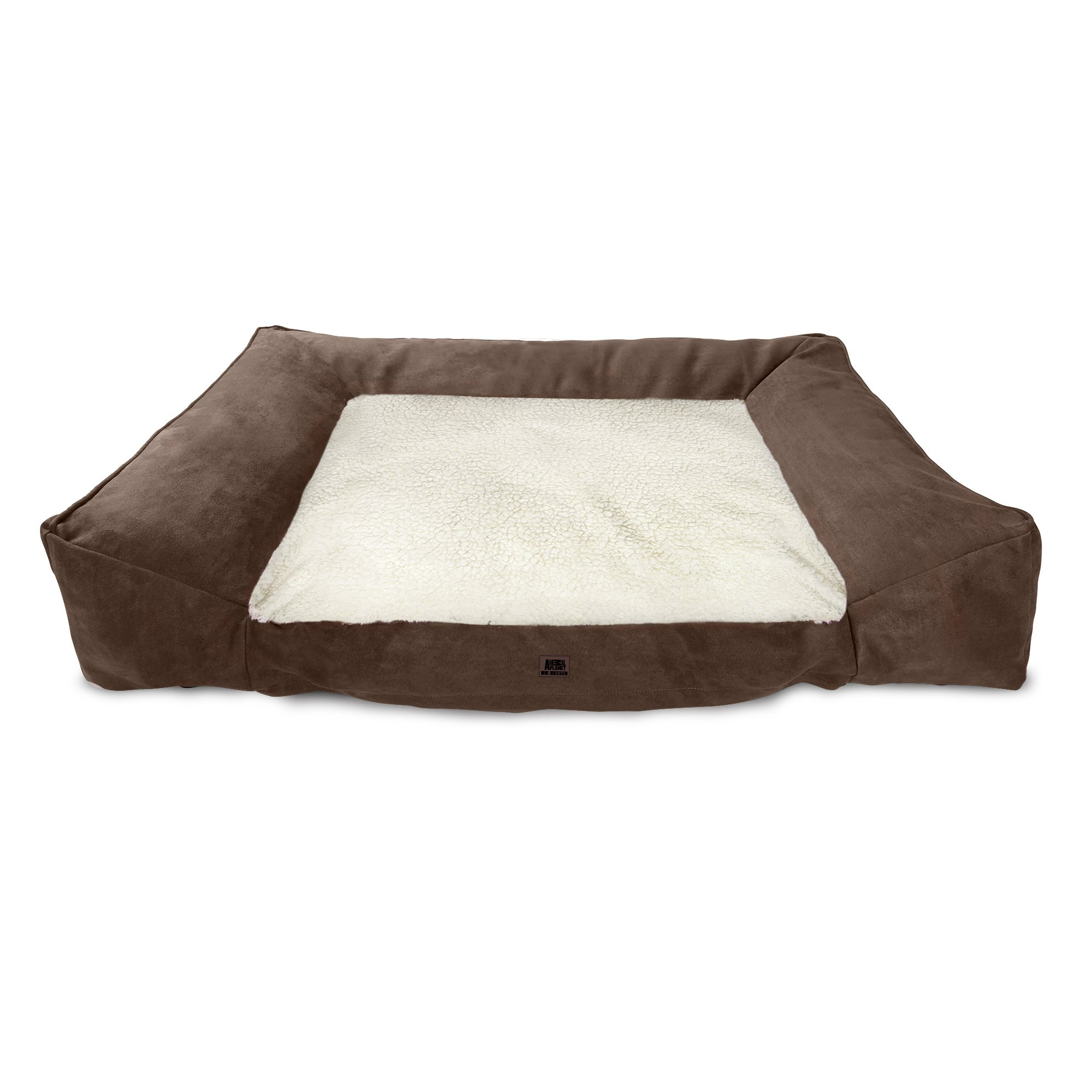 Animal Planet Pet Bed (Large, Brown w/Cream Top)