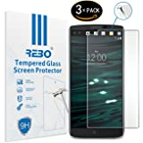 LG V10 Pellicola vetro temperato - RE3O® 3 x Pellicola protettiva vetro temperato protezione schermo per LG V10 5,7'' pollici, Facile da applicare, senza bolle d'aria, Bordo rotondo elegante 2.5D, Durezza 9H, Elevata trasparenza
