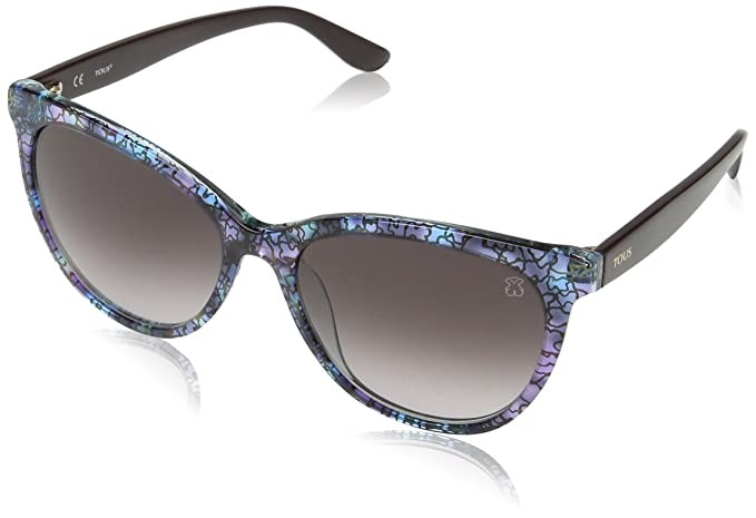 8b44f9d11a Tous Mujer STOA03 Gafas de sol, Multicolor (Transp.Pink/Light Blue Havana