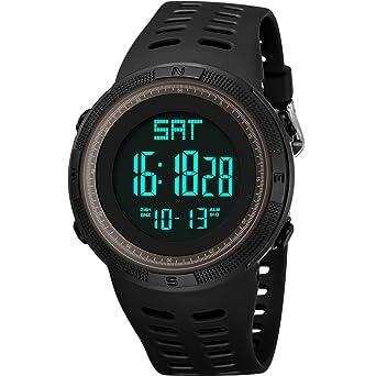 Amazon.com: Lomanda - Reloj deportivo digital resistente al ...