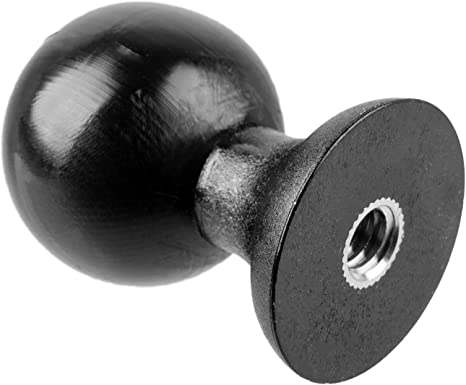 Dual 1 Ball Extension with Plastic Shaft iBolt and More Compatible with RAM and 1 Ball Systems from Arkon Rubberized Coating on Balls Tackform Enterprise Series.