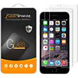 [2-Pack] Supershieldz for iPhone 8 / iPhone 7 Tempered Glass Screen Protector, Anti-Scratch, Anti-Fingerprint, Bubble Free, [3D Touch Compatible] Lifetime Replacement Warranty
