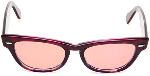 ac84361e8f ... top quality amazon ray ban laramie violet top texture frame crystal red  photo lenses 53mm non