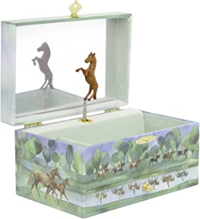 Trousselier Horses Normandy Musical Jewellery Box  sc 1 st  Amazon UK & Enchantmints Hideaway Horse Music Jewelry Box: Amazon.co.uk: Toys ... Aboutintivar.Com