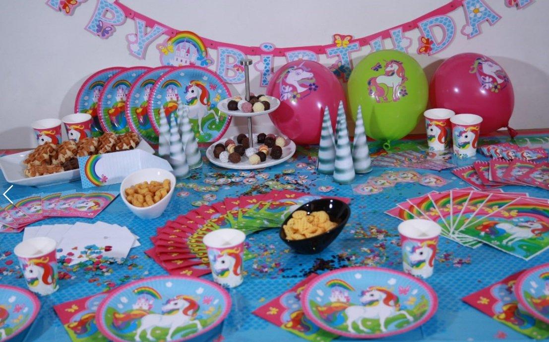 Hello Kitty Party Set XL 75-teilig für 6 Gäste Kittyparty Geburtstag Deko