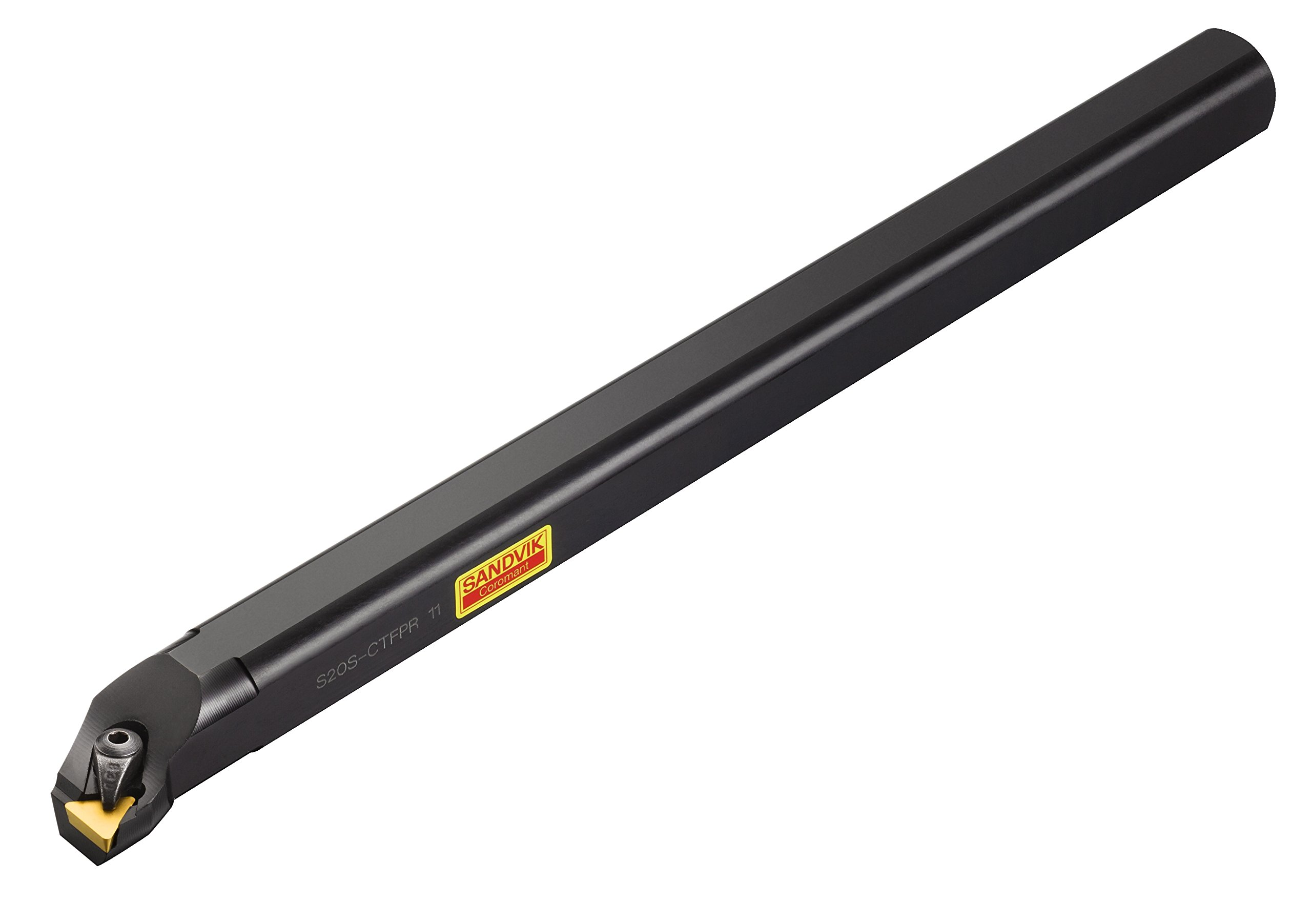 Sandvik Coromant S20S-CTFPR 11 Steel T-Max S Boring Bar for Turning 20 mm Shank Diameter, External Coolant Supply