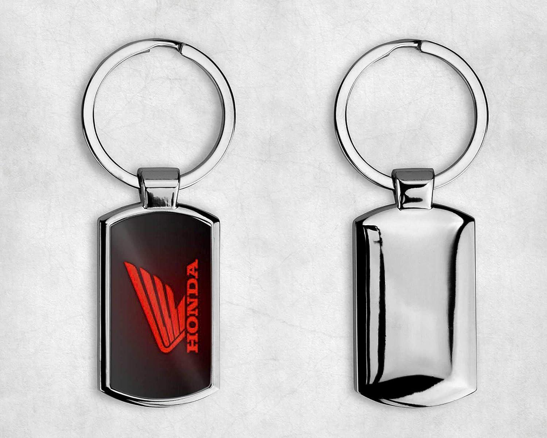 Porte-cl/és en m/étal T20 /à logo Honda avec bo/îte cadeau Plusieurs styles disponibles A004