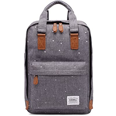 KAUKKO Stylish Oxford Fabric Backpack Travel Rucksack lightweight Hiking Bag Satchel on sale