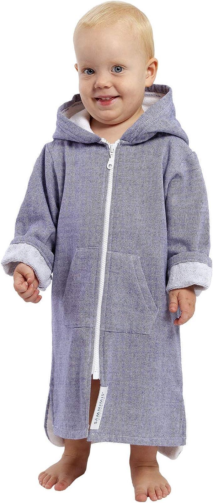 Sheridan Sammii Kids Hooded Bath Towel in Grey 65 x 130cm