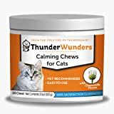 ThunderWunders Cat Calming Chews | Vet Recommended to Help Reduce Situational Anxiety | Great for Vet Visits, Travel, Separat