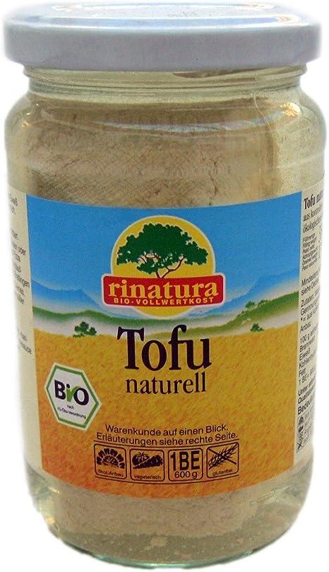Rinatura Tofu Natural Bio - Paquete de 6 x 350 gr - Total ...