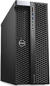 Dell Precision 7820 Tower Workstation, Intel Xeon Silver 4114 up to 3.0GHz (10-Core), 192GB RAM, 1TB SSD + 4TB, Quadro P2000 5GB (Supports 4K) 4x Display Ports, USB 3.1 Windows 10 Pro 64-bit (Renewed)