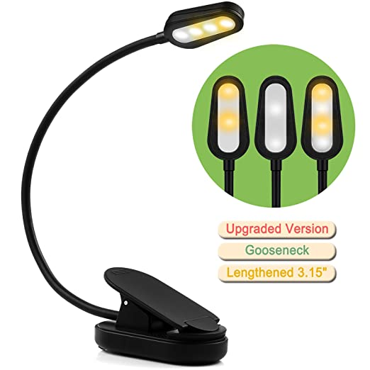 Review ColorGo Rechargeable Book Light,