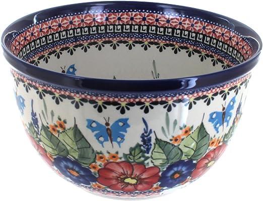 Polish Pottery Olive Dish 13 Inch Spring Flowers Nayancorporation Com