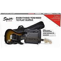 Fender Affinity Stratocaster HSS Pack Brown Sunburst + Frontman 15G + Funda