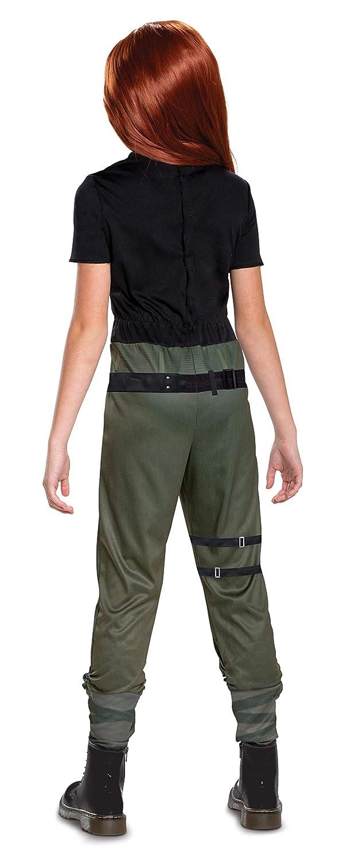 Disguise Kim Possible Disfraz clásico para niño, Negro, L: Amazon ...