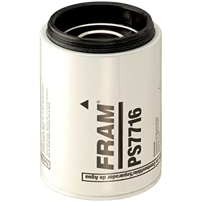 FRAM PS7716 Heavy Duty Spin-On Fuel and Water Separator Filter: Automotive