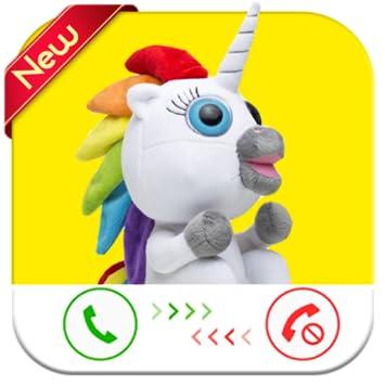 Amazon Com Fake Phone Call From Unicorn Free Fake Phone Calls