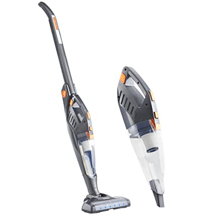 0ee999d1d79 VonHaus 2 in 1 Cordless Vacuum Cleaner - Folding Stick Vac - 22.2V Battery -