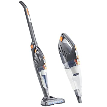 Great VonHaus 2 In 1 Cordless Vacuum Cleaner   Folding Stick Vac   22.2V Battery    180° Swivel Steering System U0026 Retractable Handle   Back Saving Feature ...