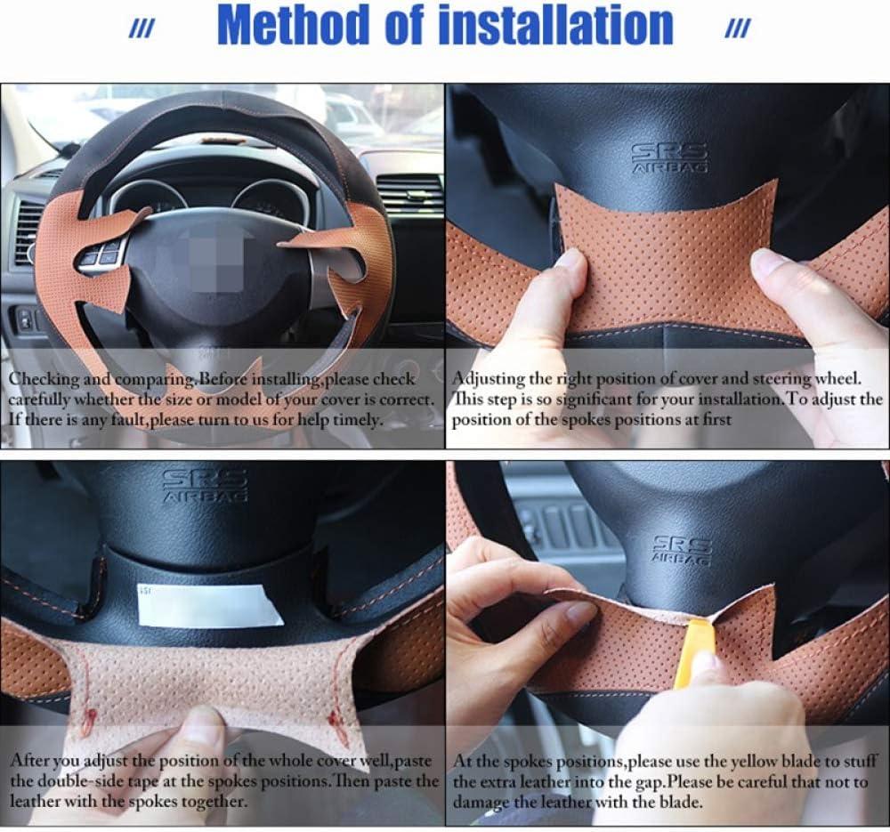JIERS Coprivolante per Auto Coprivolante in Pelle per Hyundai Veloster 2011-2018